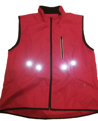 everything-glows.dk Go Pink Vest